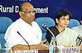 The Minister of Agriculture, Consumer Affairs, Food and Public Distribution, Shri Sharad Pawar addressing the Fifth Editors' Conference on Social Sector Issues in New Delhi on November 5, 2004.jpg