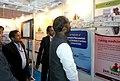 The Minister of State for Chemicals & Fertilizers, Shri Hansraj Gangaram Ahir visiting the Jan Aushadhi Pavilion, at the India International Trade Fair, 2015, at Pragati Maidan, in New Delhi on November 17, 2015.jpg