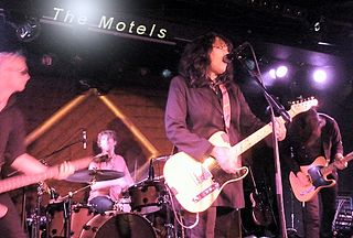 The Motels American New Wave band