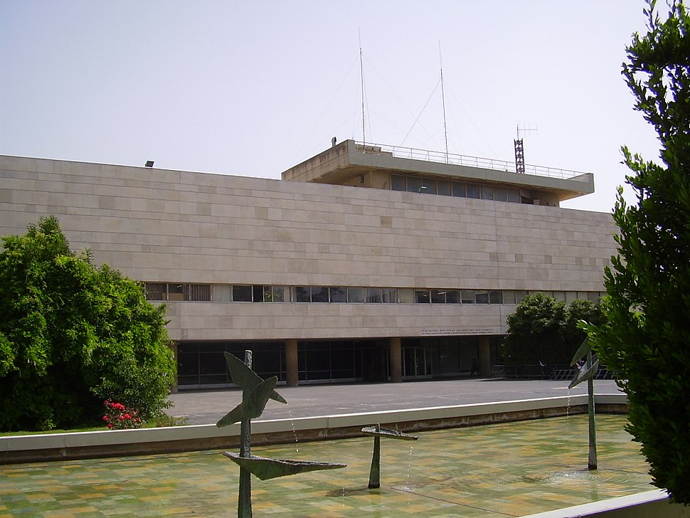 The National Library of Israel building - Amitay Katz