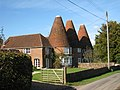 The Oast House and The Roundels, Dog Kennel Lane, Hadlow Down, East Sussex - geograph.org.uk - 1010138.jpg