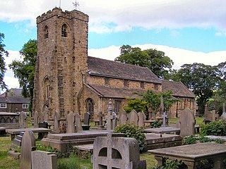 Church of St Mary and All Saints, Whalley Church in Lancashire, England