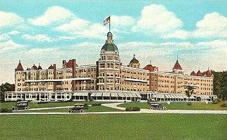 Poland, Maine - The Poland Spring House (1876-1975)