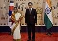 The President, Smt. Pratibha Devisingh Patil with the President of Korea, Mr. Lee Myung-bak, in Seoul, Korea on July 25, 2011.jpg