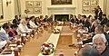 The Prime Minister, Shri Narendra Modi and the Prime Minister of Malaysia, Dato' Sri Mohd Najib Bin Tun Abdul Razak, at the delegation level talks, at Hyderabad House, in New Delhi on April 01, 2017.jpg