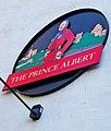 The Prince Albert pub sign, 21 Bewdley Road, Kidderminster - geograph.org.uk - 1104297.jpg