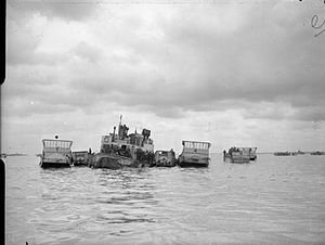 The Royal Navy during the Second World War- Operation Overlord (the Normandy Landings), June 1944 A24018.jpg