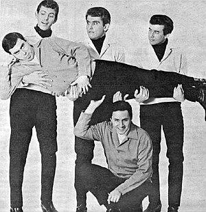 """The T-Bones - The """"public"""" T-Bones in 1966."""
