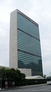 Headquarters of the United Nations Group of buildings in New York City