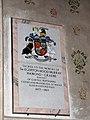 The church of St John the Evangelist - C20 memorial - geograph.org.uk - 1731590.jpg