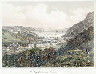 The city of Bangor, Caernarvonshire