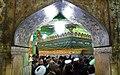 The symbolic entrance ceremony of Fatimah bint Musa to Qom - 23 Rabi' al-awwal 1434 AH 11.jpg