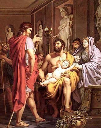 Pierre Joseph Célestin François - Themistocles Admetus