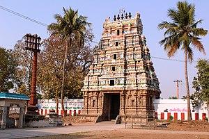 Bhaktajaneswarar temple - Image: Thirunavalur (7)