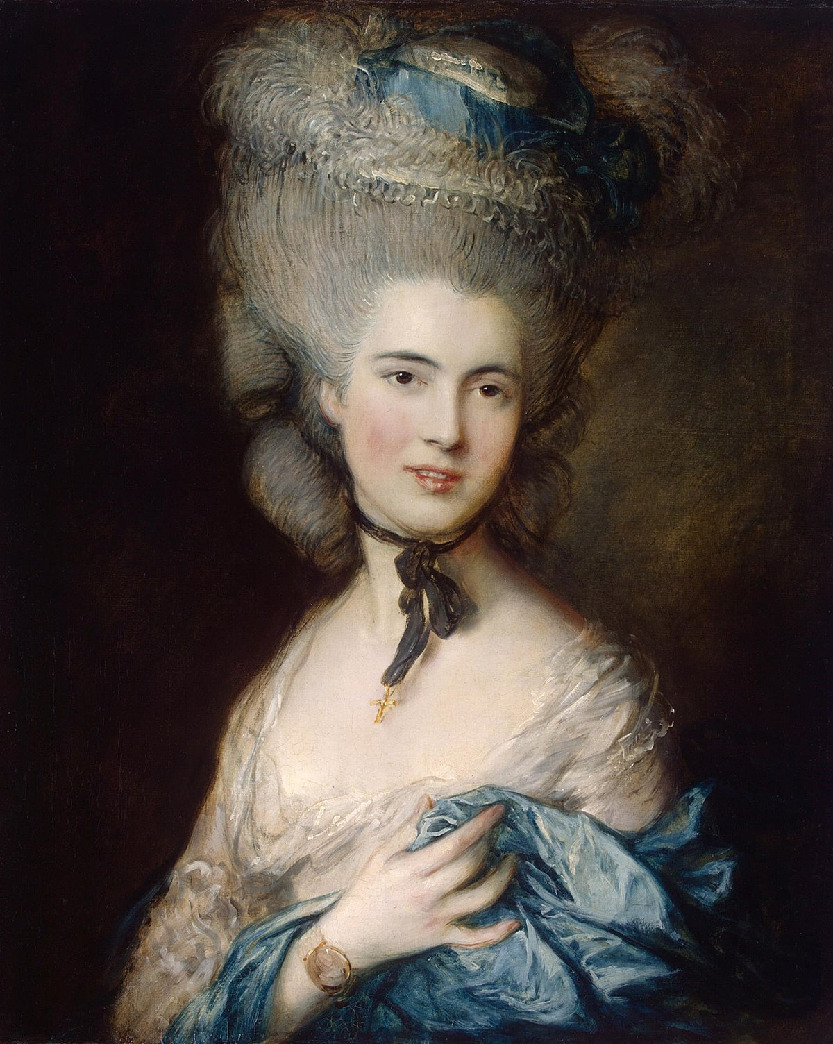 La Femme En Bleu Gainsborough Wikipedia