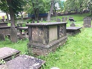 Second Carib War - British Major Thomas Huxley, West India Regiment, fought Black Carib, Old Burying Ground (Halifax, Nova Scotia)