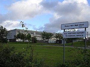 Bishopbriggs Academy - The old Thomas Muir High school building.