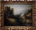 Thomas gainsborough, paesaggio roccioso e boscoso con una conca e sbarramento, 1782-83 ca.jpg