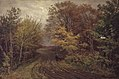 Thorvald Niss - Vej i Borrevejle Skov. Oktoberdag - KMS3759 - Statens Museum for Kunst.jpg