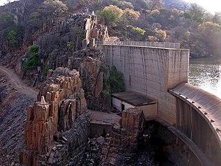 Thuli–Makwe Dam dam in Zimbabwe