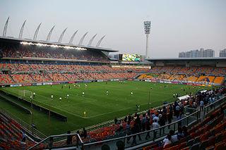 TEDA Football Stadium building in Wang Jingwei regime, China