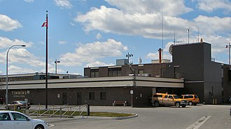 Timmins/Victor M. Power Airport - Terminal building