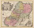 Tobias Lotter. Charta geographica Terrae Santae Divisa in duodecim Tribus Israelis.1762.jpg