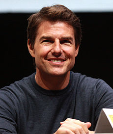 Tom Cruise vid San Diego Comic-Con International 2013