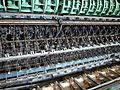 Tomioka Silk Mill - silk reeling equipment closeup - aug 12 2014.jpg