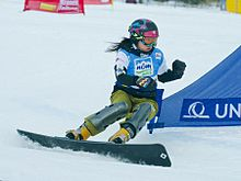 Tomoka Takeuchi FIS World Cup Parallel Slalom Jauerling 2012.jpg