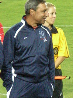 Tony DiCicco at Brandi Chastain's Testimonial Game 2.JPG