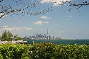 Humber Bay Park - Toronto Skyline from Humber Bay Park
