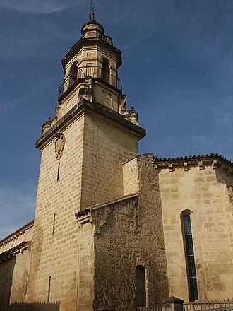 Santa María Magdalena, Córdoba - Image: Torre de la Iglesia de la Magdalena (Córdoba, Spain)