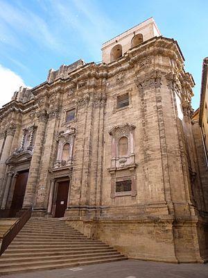 Tortosa Cathedral - Image: Tortosa Catedral, exteriores, fachada principal 04