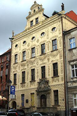 Toruń, Pałac biskupa Dąmbskiego, ul. Żeglarska 8 (2) (OLA Z.)