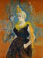 Toulouse-Lautrec - The Clown Cha-U-Kao, 1895.jpg
