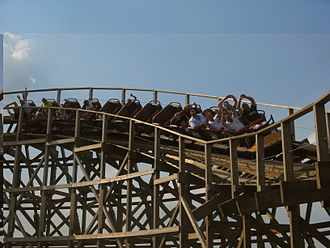 Great Coasters International - Troy at Toverland is one of GCI's roller coasters that runs Millennium Flyer trains