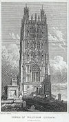 Tower of Wrexham church, Denbighshire.jpeg