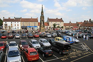 Helmsley Market town in North Yorkshire, England
