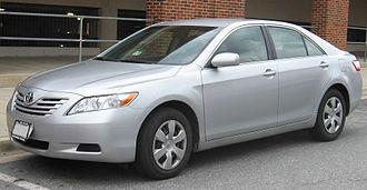 2009–11 Toyota vehicle recalls - Image: Toyota Camry LE