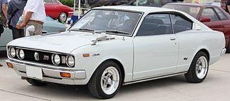Toyota Carina - 1975 Carina 2000GT hardtop coupe