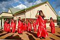Traditional dancers crew welcoming the bride during introduction wedding in Rwanda.jpg