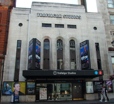 The Whitehall Theatre, now Trafalgar Studios, opened in 1930 and is a Grade II listed building.