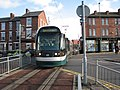 Tram crossing Radford Road - geograph.org.uk - 1590616.jpg