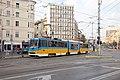 Tram in Sofia mear Macedonia place 2012 PD 009.jpg