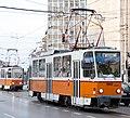 Tram in Sofia near Macedonia place 2012 PD 073.jpg