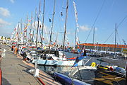 Description de l'image Transat Jacques Vavre, Le Havre, 2015.JPG.