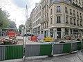 Travaux croisement boulevard Haussmann rue Pasquier 1.jpg