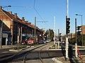 Travaux de la branche vers Vieux-Condé de la ligne B du tramway de Valenciennes en décembre 2013 (267).JPG