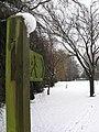 Tredegar park in the snow - geograph.org.uk - 1651167.jpg